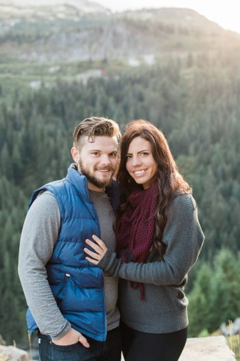 10 Mount Rainier Engagement Breanna Elizabeth Photography Via MountainsideBride.com