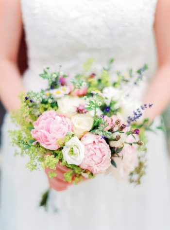 11 Bridal Details Colorful Austrian Wedding Theresa Pewal Via MountainsideBride.com