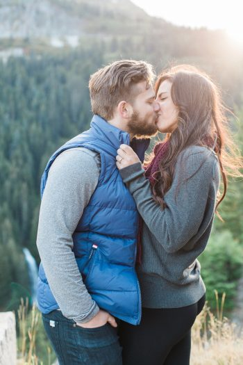 12 Mount Rainier Engagement Breanna Elizabeth Photography Via MountainsideBride.com