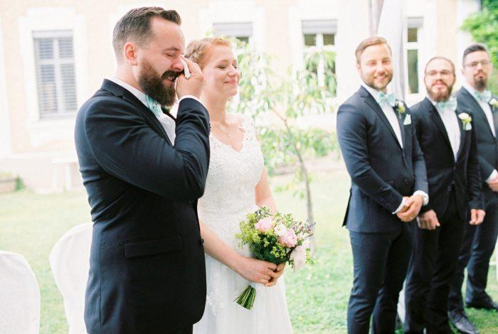 17 Ceremony Colorful Austrian Wedding Theresa Pewal Via MountainsideBride.com