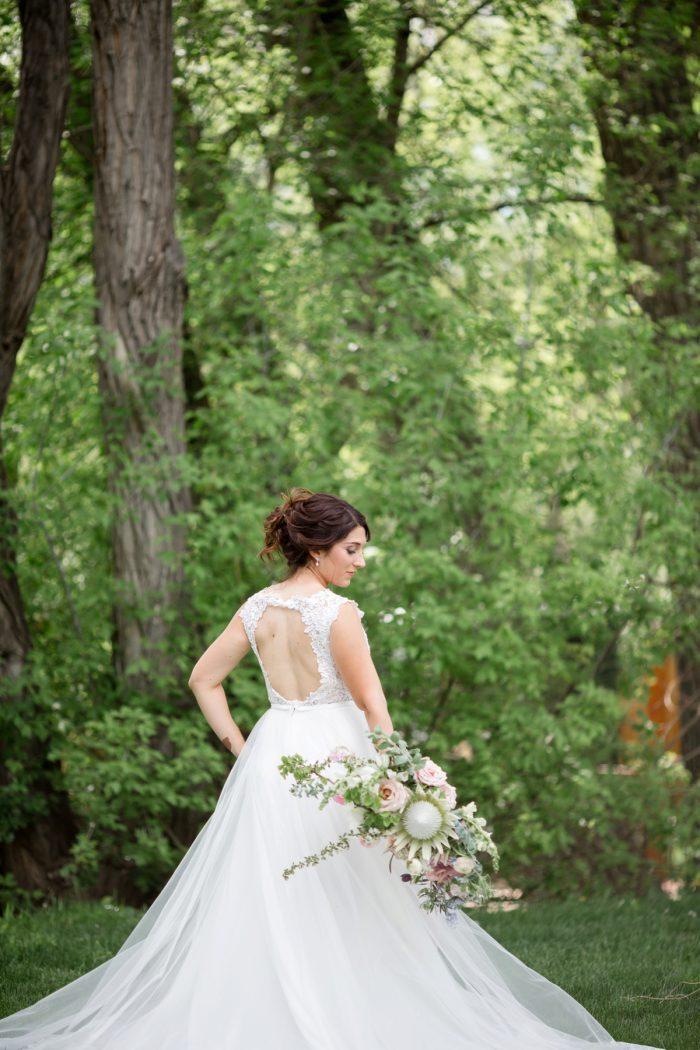 2 Kathyrn Elizabeth Bridal Style Sarah Roshan Via MountainsideBride.com