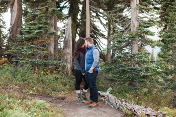 2 Mount Rainier Engagement Breanna Elizabeth Photography Via MountainsideBride.com