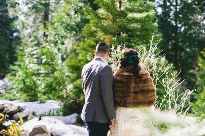 21 Big Bear Winter Wedding Inpiration Sarah Mack Photo Via MountainsideBride.com
