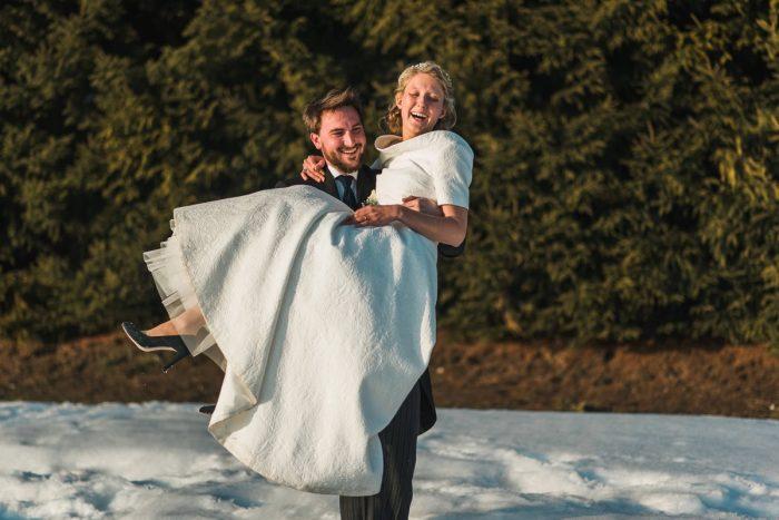21 Switzerland Winter Wedding Nordica Photography Via MountainsideBride.com 72