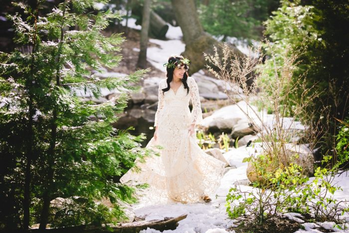 23 Big Bear Winter Wedding Inpiration Sarah Mack Photo Via MountainsideBride.com