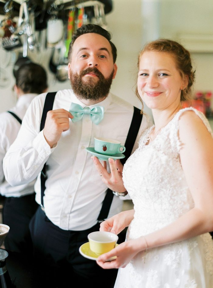 31 Coffee And Cake Colorful Austrian Wedding Theresa Pewal Via MountainsideBride.com