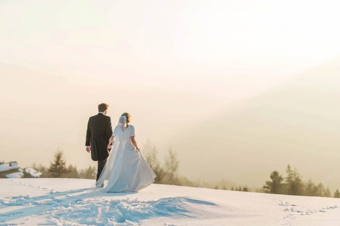 36 Switzerland Winter Wedding Nordica Photography Via MountainsideBride.com 80