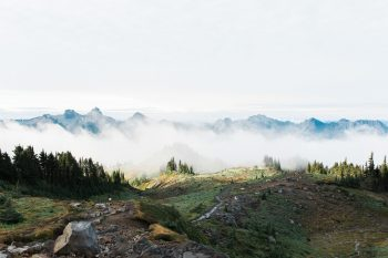 4 Mount Rainier Engagement Breanna Elizabeth Photography Via MountainsideBride.com