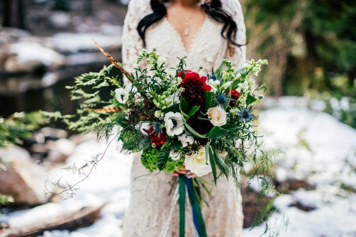 6 Big Bear Winter Wedding Inpiration Sarah Mack Photo Via MountainsideBride.com