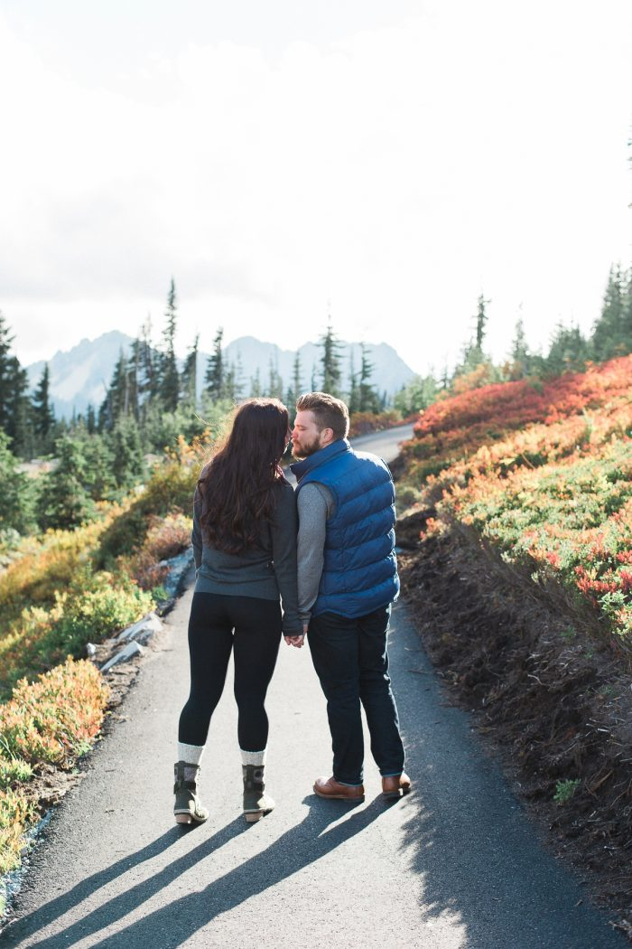 8 Mount Rainier Engagement Breanna Elizabeth Photography Via MountainsideBride.com