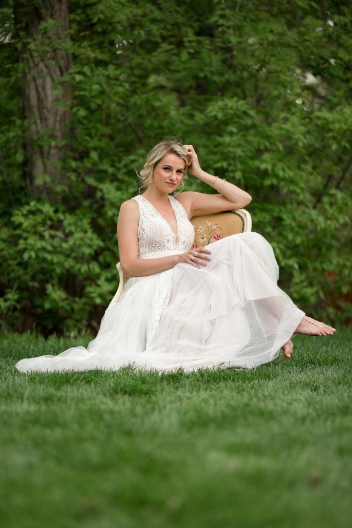 9 Kathyrn Elizabeth Bridal Style Sarah Roshan Via MountainsideBride.com
