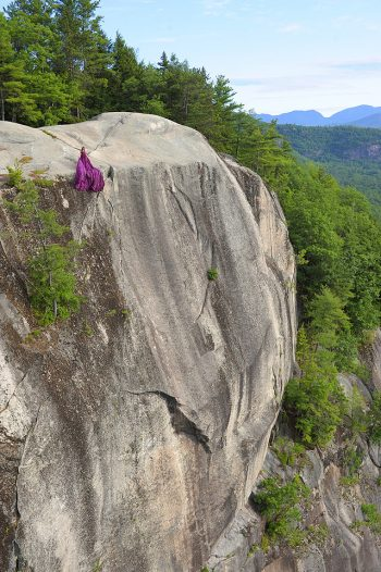 Purple Magesty Top Of The Cliff Jay Philbreck Cliff Side Wedding Photography Via MountainsideBride.com