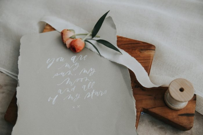 1 PNW Summer Styled Shoot Red Poppy Photo Via MountainsideBride.com