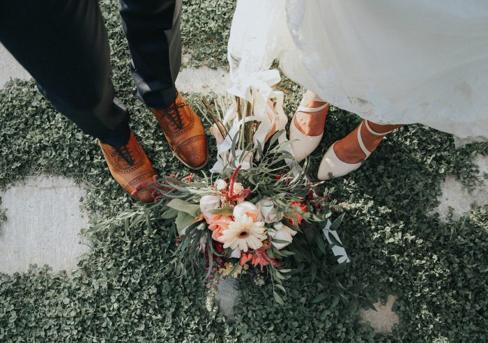 11 PNW Summer Styled Shoot Red Poppy Photo Via MountainsideBride.com