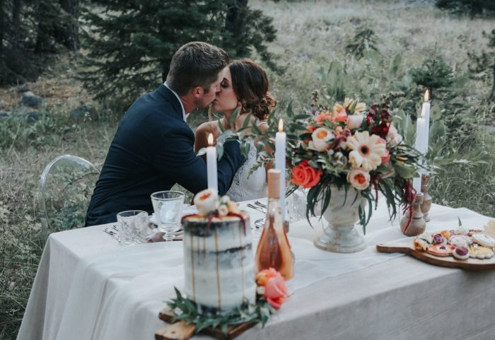 15 PNW Summer Styled Shoot Red Poppy Photo Via MountainsideBride.com