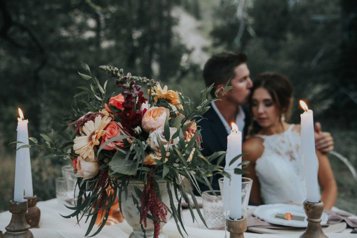 17 PNW Summer Styled Shoot Red Poppy Photo Via MountainsideBride.com