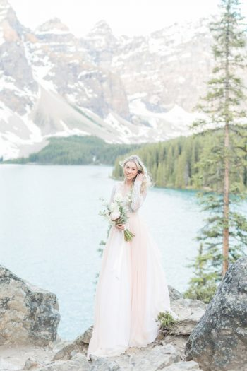 2 Banff Anniversay Ashley Tyler Anniversary KIR2BEN Via MountainsideBride.com