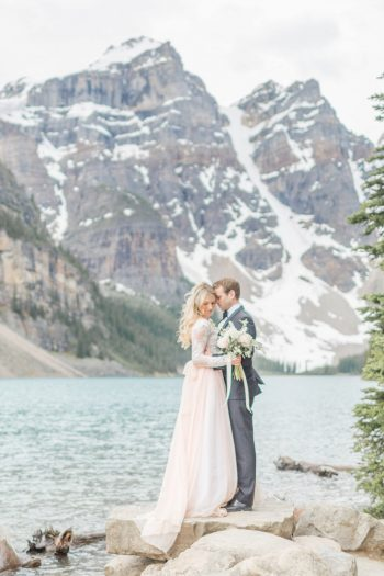 21 Banff Anniversay Ashley Tyler Anniversary KIR2BEN Via MountainsideBride.com