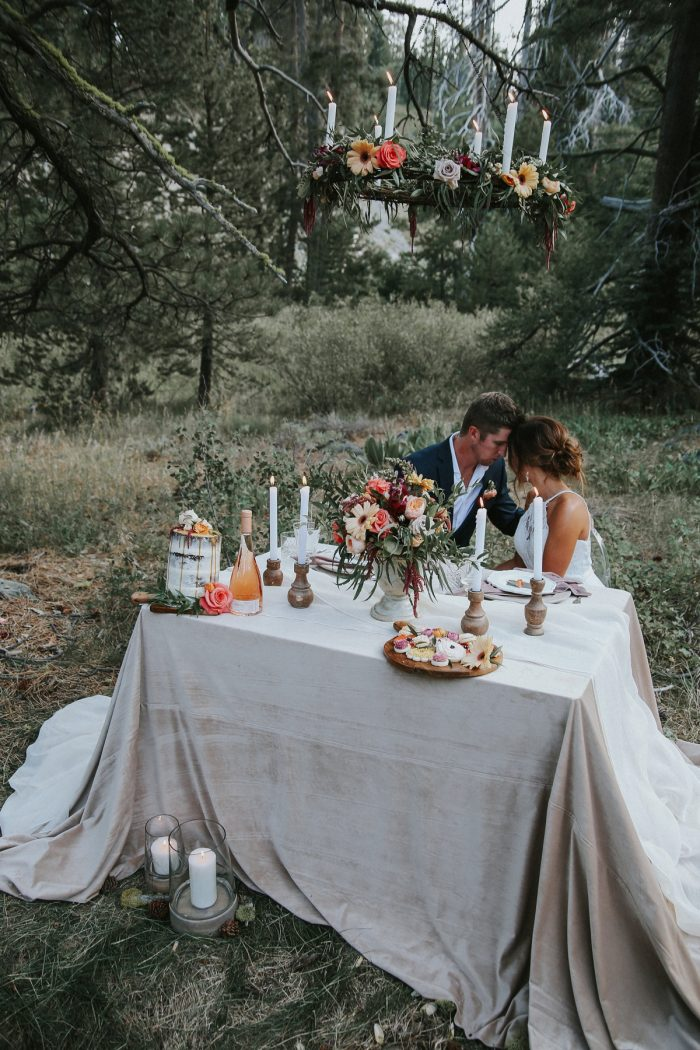 24 PNW Summer Styled Shoot Red Poppy Photo Via MountainsideBride.com