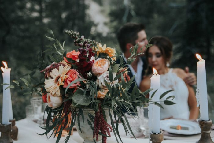 27 PNW Summer Styled Shoot Red Poppy Photo Via MountainsideBride.com