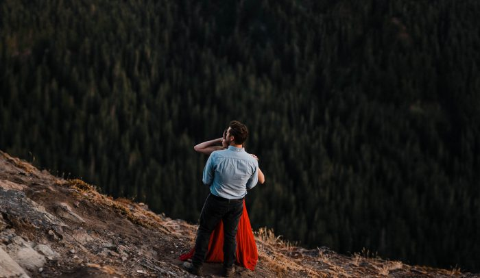 7 Mount Rainier Engagement Washington National Park The Foxes Photography Via MountainsideBride.com