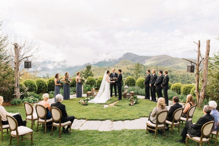 8 Highlands NC Estate Wedding Miranda Grey Weddings Via MountainsideBride.com