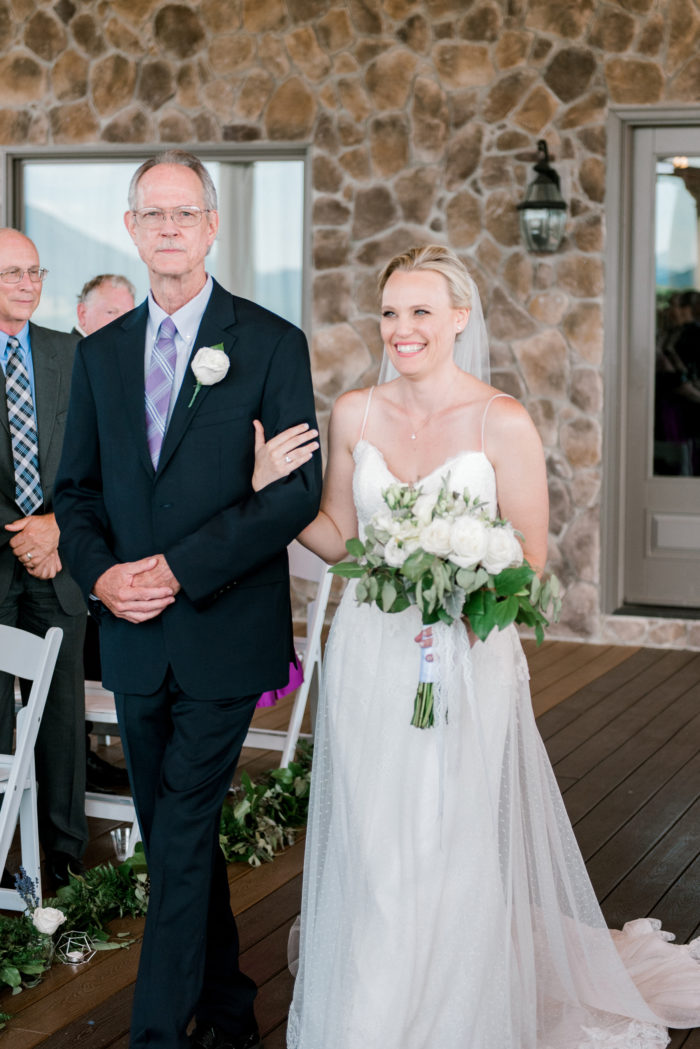 A Romantic Summer Wedding In The Blue Ridge Mountains Kathryn Ivy Photography22