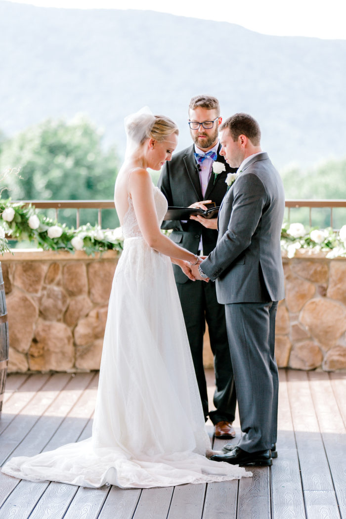 A Romantic Summer Wedding In The Blue Ridge Mountains Kathryn Ivy Photography23