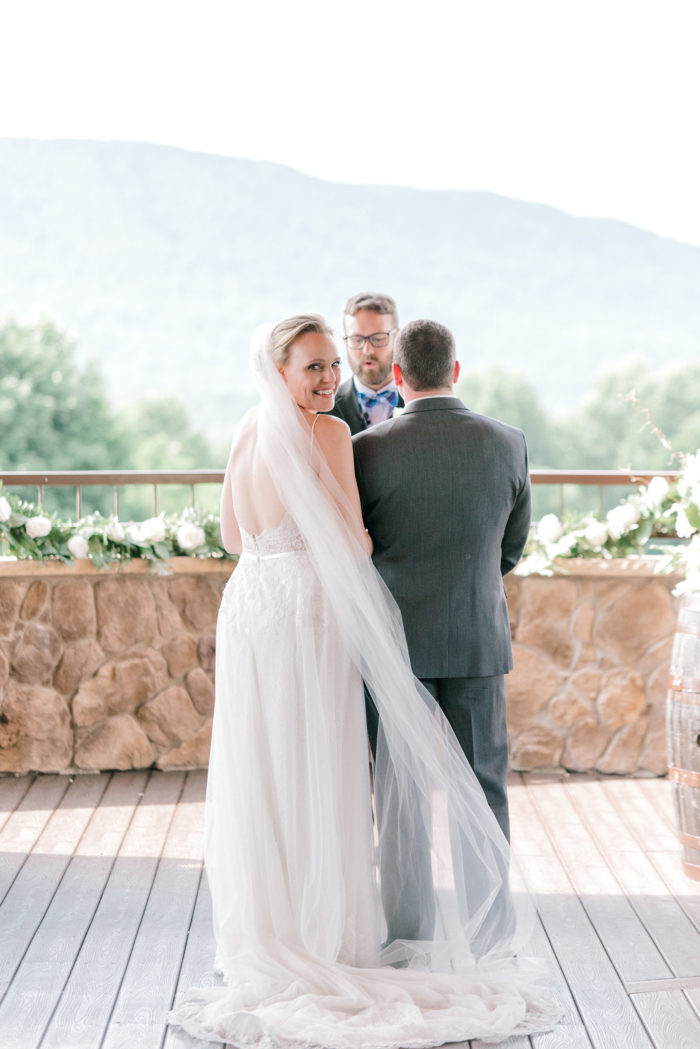 A Romantic Summer Wedding In The Blue Ridge Mountains Kathryn Ivy Photography25