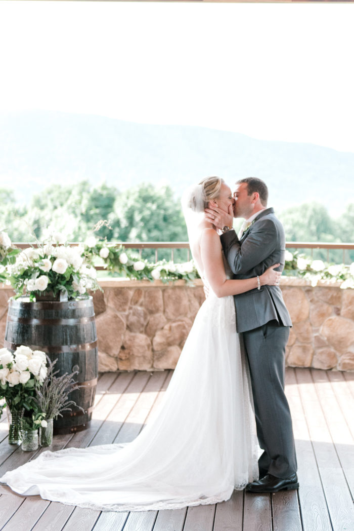 A Romantic Summer Wedding In The Blue Ridge Mountains Kathryn Ivy Photography26