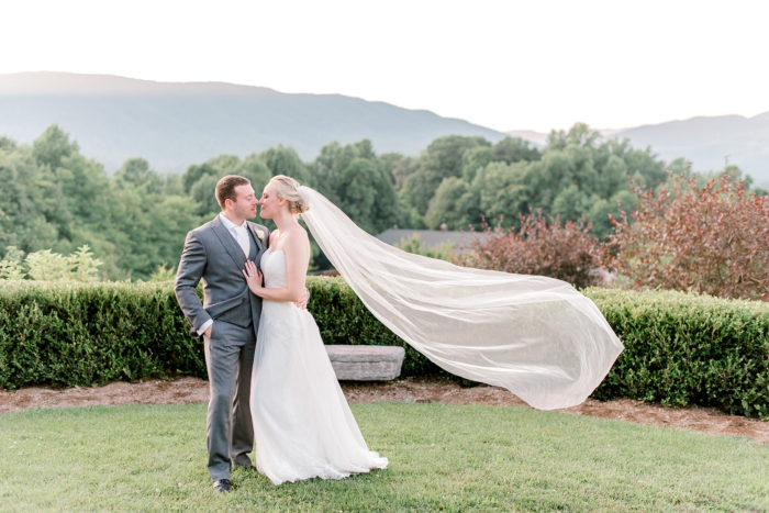 A Romantic Summer Wedding In The Blue Ridge Mountains Kathryn Ivy Photography27
