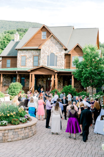 A Romantic Summer Wedding In The Blue Ridge Mountains Kathryn Ivy Photography33