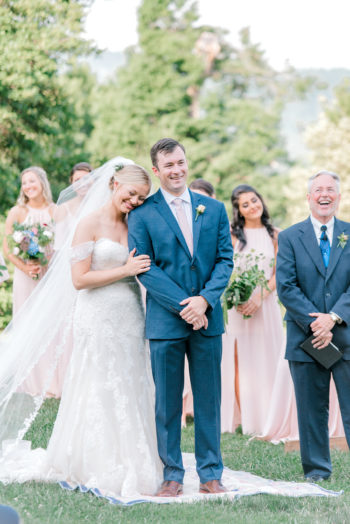 A Sweet Summertime Wedding In The Blue Ridge Mountains Kathryn Ivy Photography25