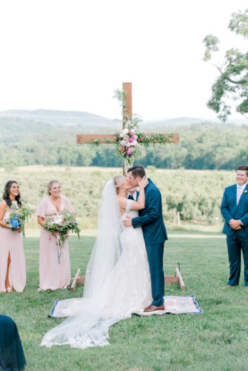 A Sweet Summertime Wedding In The Blue Ridge Mountains Kathryn Ivy Photography26