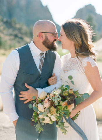 An Intimate Vow Renewal At Smith Rock The Ganeys15