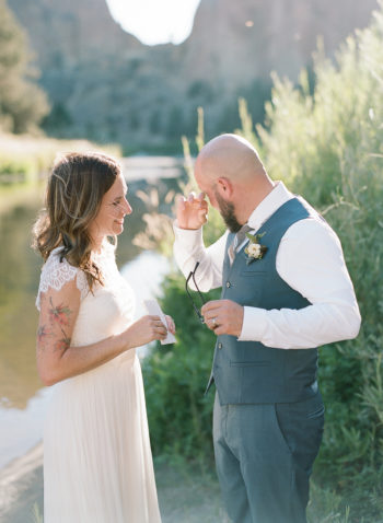 An Intimate Vow Renewal At Smith Rock The Ganeys20
