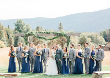 Blue And Gray Weddings