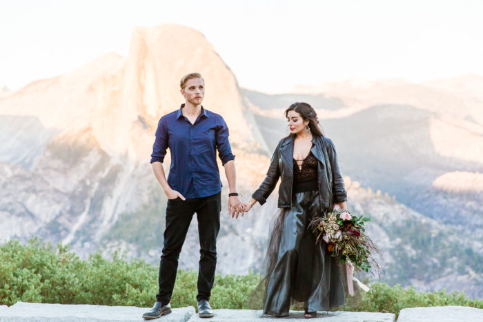 Intimate Elopement Inspiration In Yosemite