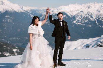 Mountaintop Elopement In Whistler Karizma Photography15