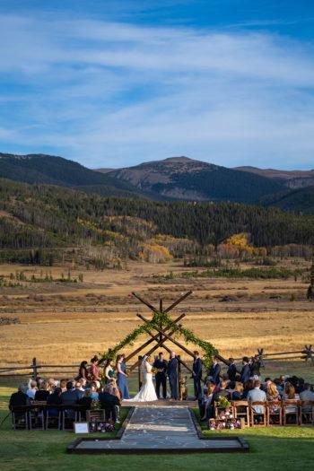 Outdoor Ranch Weddings In Denver