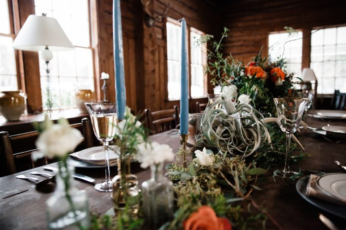 Bohemian Winter Elopement | Parker Mountain Lodge