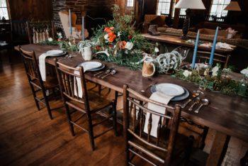 Bohemian Winter Elopement | Parker Mountain Lodge