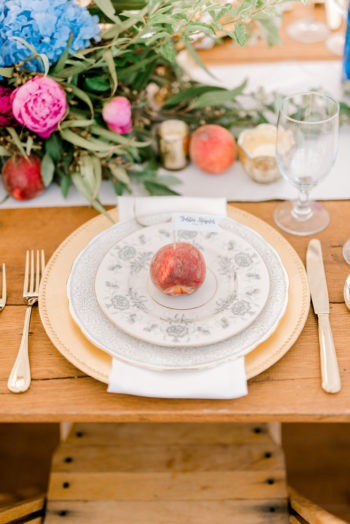 Summer Wedding Tables