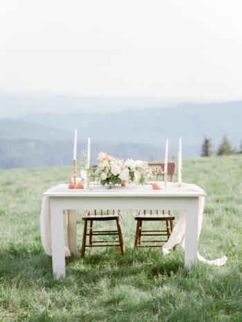 Summer Wedding Tables