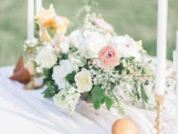 Vibrant And Summery Hillside Bridal Session08