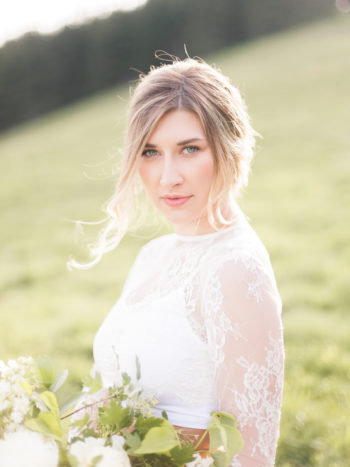 Vibrant And Summery Hillside Bridal Session18