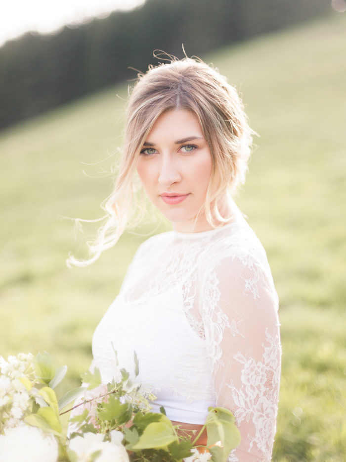 Vibrant And Summery Hillside Bridal Session18