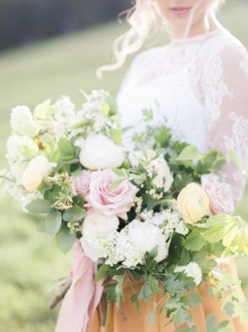 Vibrant And Summery Hillside Bridal Session19