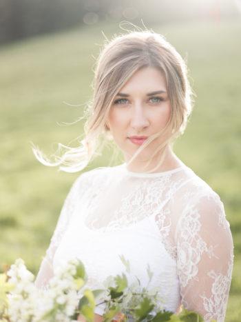 Vibrant And Summery Hillside Bridal Session20