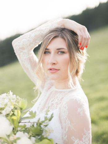 Vibrant And Summery Hillside Bridal Session22